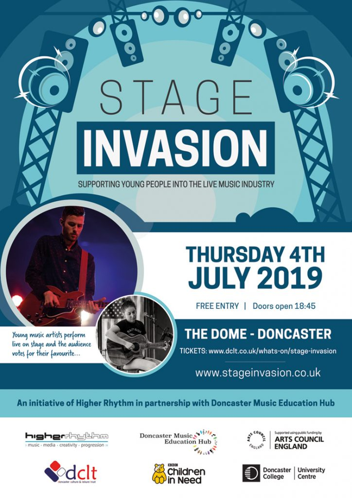 Stage Invasion 2019 poster