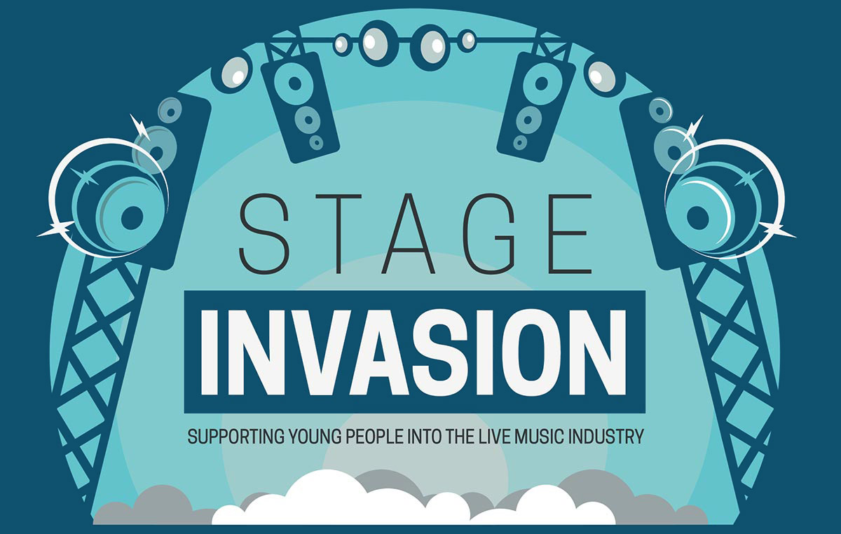 Stage Invasion, supporting young people into the live music industry